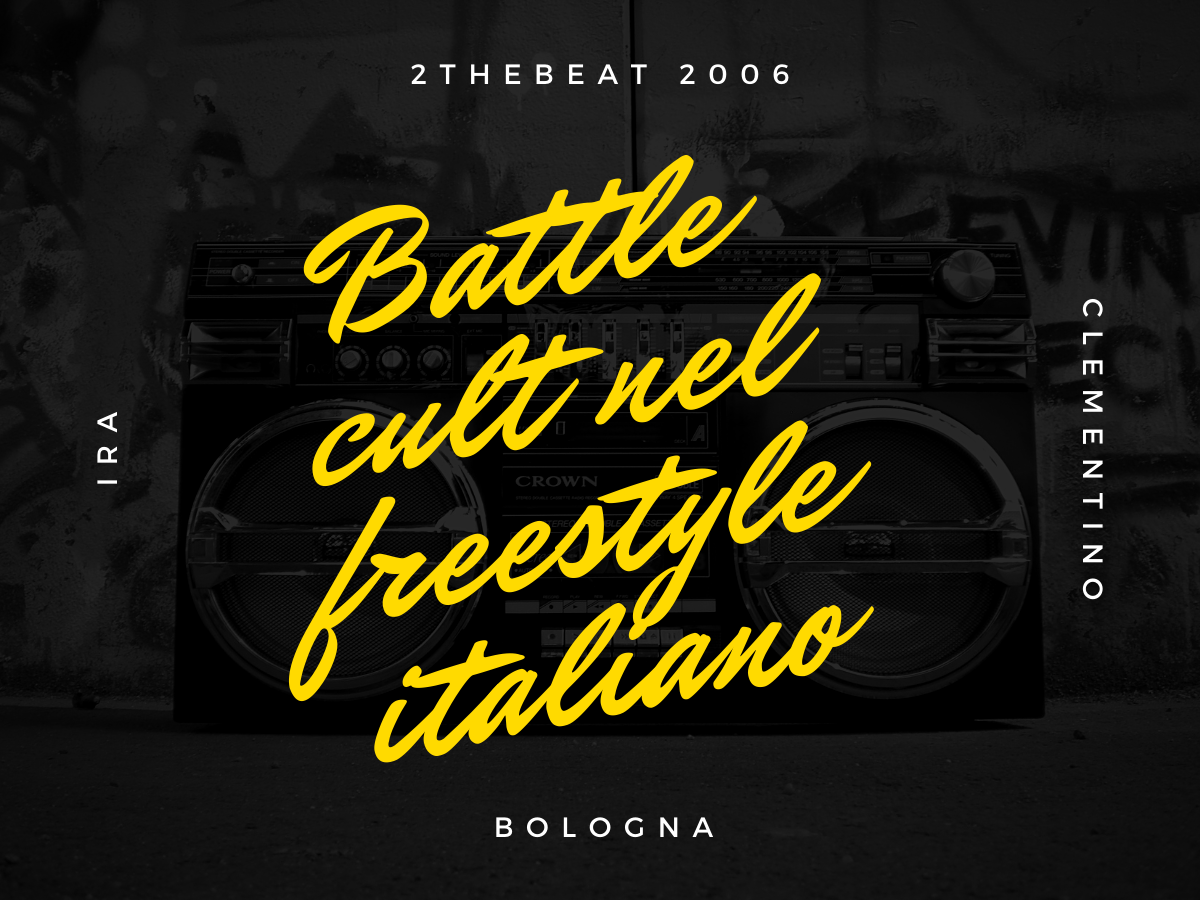 Ira vs Clementino – 2 The Beat 2006