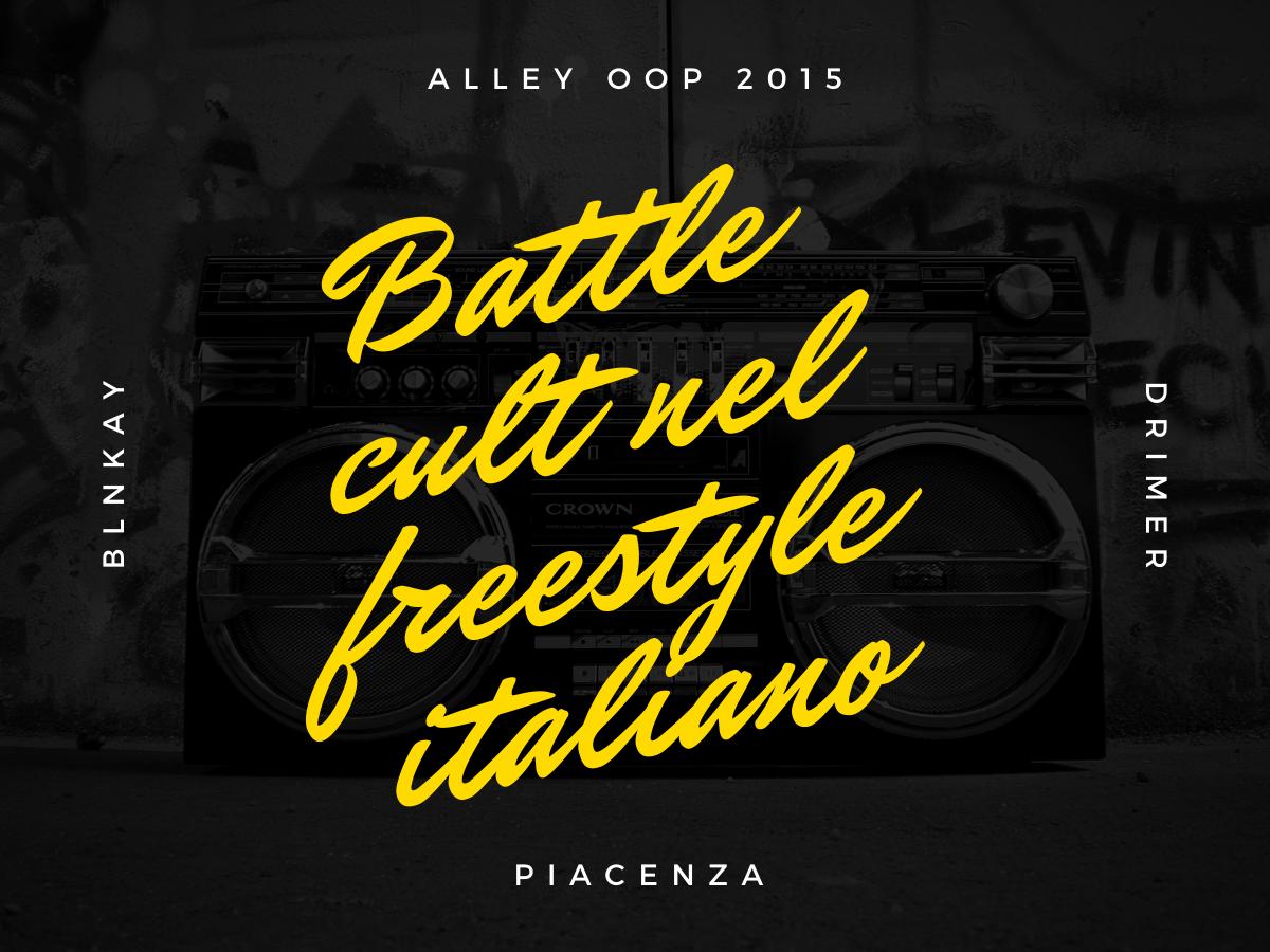 Blnkay vs Drimer – Alley Oop 2015