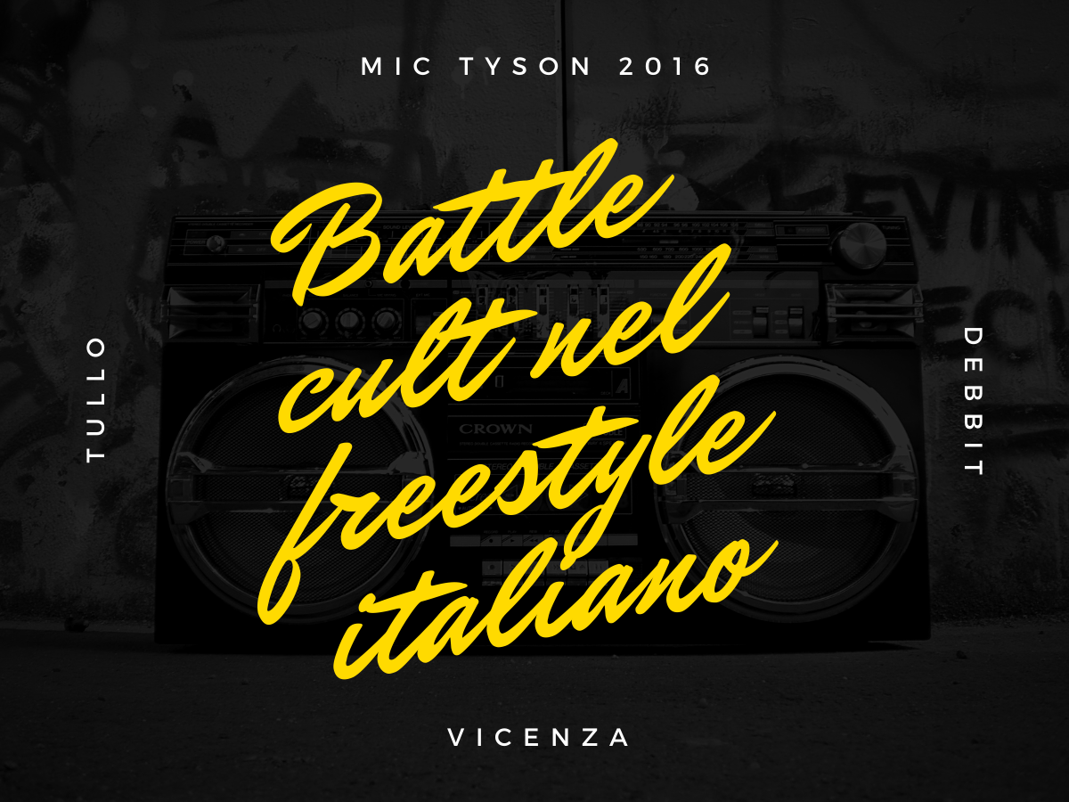 Debbit vs Tullo – Mic Tyson 2016