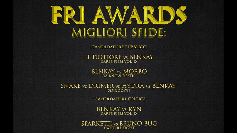 Awards Freestyle 2020: Le migliori sfide