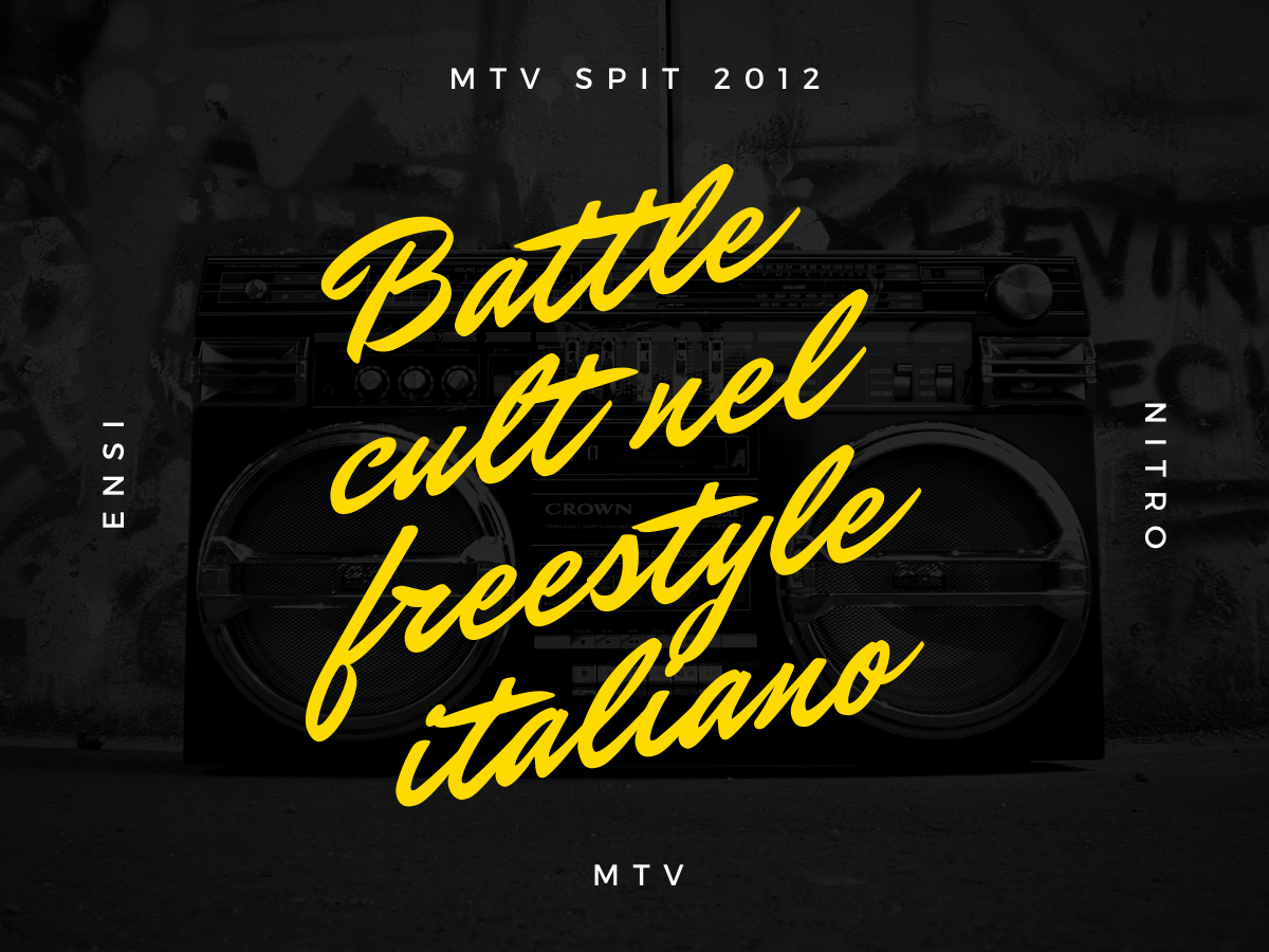 Ensi vs Nitro – MTV Spit 2012